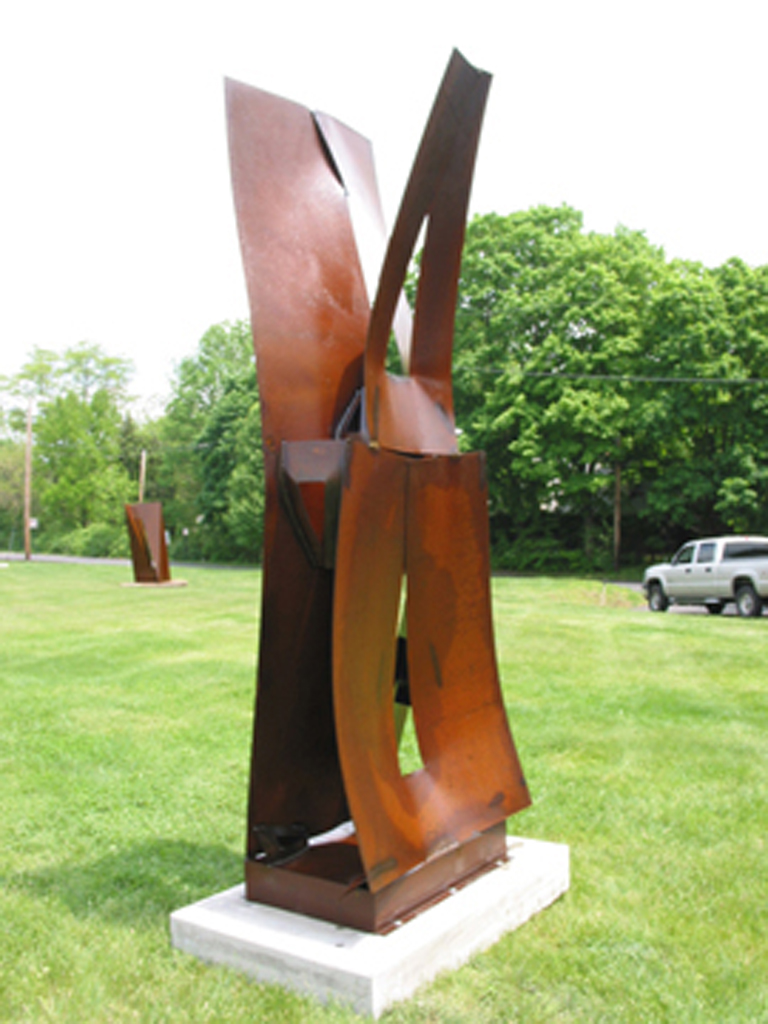 """Convergence"" Oiled steel"