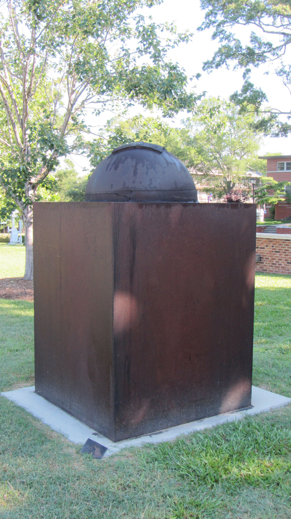 Cube Dome. Cast Iron & Steel . 4 ft. sq. x 6 ft. high